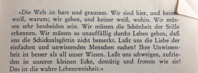 """(aus: W. Somerset Maugham: """"Silbermond und Kupfermünze"""")"""