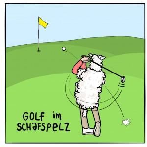 golfimschafspelz